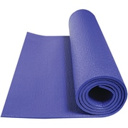 Gofit Double Thick Yoga Mat, Sapphire Blue (GOFGF2XYOGA)