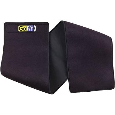 Gofit Double Thick Waist Trimmer, Black (GOFGF2XNWT)