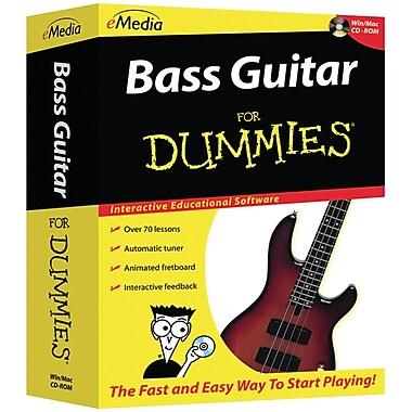 Emedia Bass Guitar For Dummies® CD-ROM