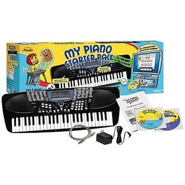 Emedia Beginner USB MIDI Keyboard and Software Pack For Kids