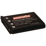 DigiPower® BP-NKL10 3.7 VDC 660 mAh Lithium-ion Rechargeable Replacement Battery