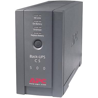 APC – Batterie de sauvegarde Back-UPS de 120 (APCBK500BLK)
