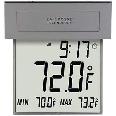 La Crosse Technology® 306-605 Solar Window Thermometer