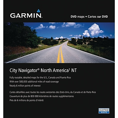 Garmin® 010-11551-00 2011 NuMaps Onetime North America MicroSD/SD Card