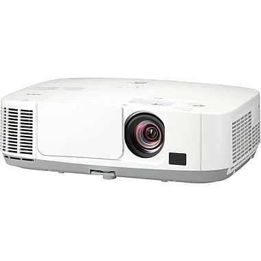 NEC NP-P501X XGA LCD Entry-Level Professional Installation Projector, White
