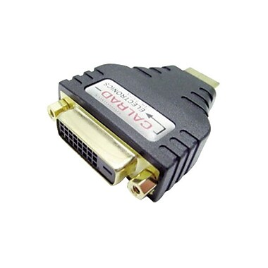 Calrad 35-712A HDMI to DVI-D Video Adapter, Black