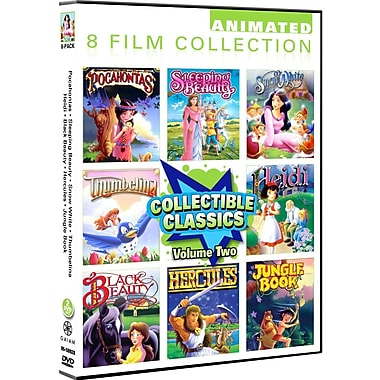 Animated Classics 8 Pack - Volume 2 (DVD)