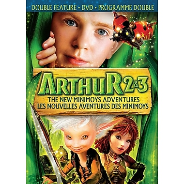 Arthur and the Invisibles 2 & 3: The New Minimoys Adventures (DVD)
