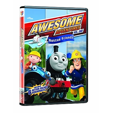 Awesome Adventures: Rescue Friends Volume 1 (DVD)