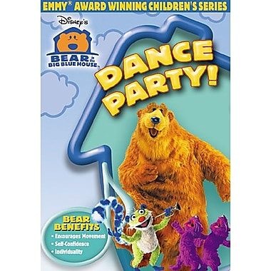 Bear In The Big Blue House: Dance Party! (DVD)