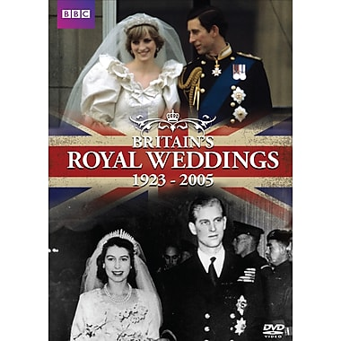 Britains Royal Weddings (DVD)