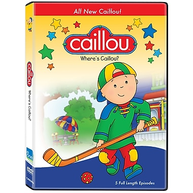 Caillou: Where's Caillou (DVD)