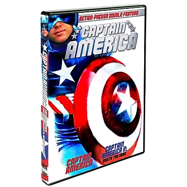 Captain America/Captain America2: Death Too Soon (DVD)