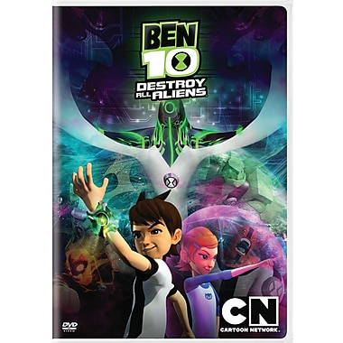 Cartoon Network: Ben 10 Movie Destroy All Aliens (DVD)