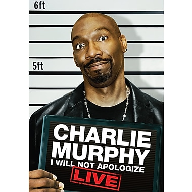 Charlie Murphy: I Will Not Apologize: LIVE (DVD)