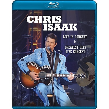 Chris Isaak Greatest Hits: Live (DISQUE BLU-RAY)