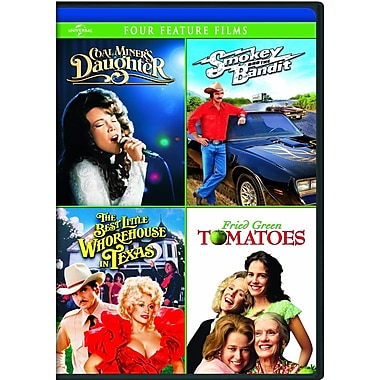 Coal Miners Daughter/Smokey and the Bandit/The Best Little Whorehouse in Texas/Fried Green Tomatoes (DVD)