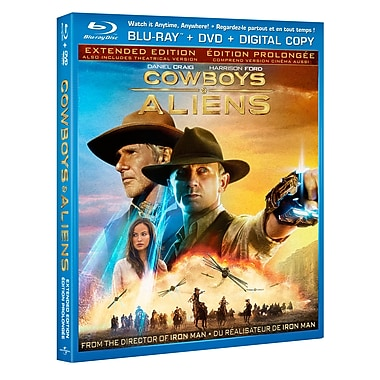 Cowboys and Aliens (BRD + DVD + Digital Copy)