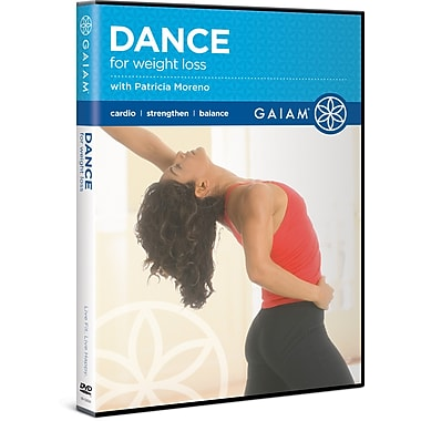 Dance for Weight Loss DVD with Patricia Moreno (GAIAM MEDIA)