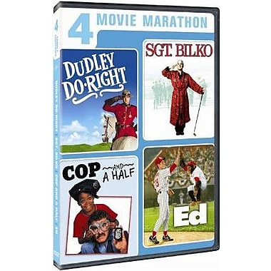 Dudley Do Right/Sgt. Bilko/Cop and a Half/Ed (DVD)