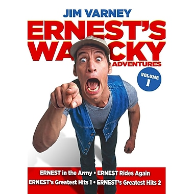 Ernest's Wacky Adventures Volume 1 (DVD)