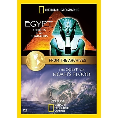 From the Archives - Egypt - Secrets of the Pharaohs / The Quest for Noah's Flood (DVD)