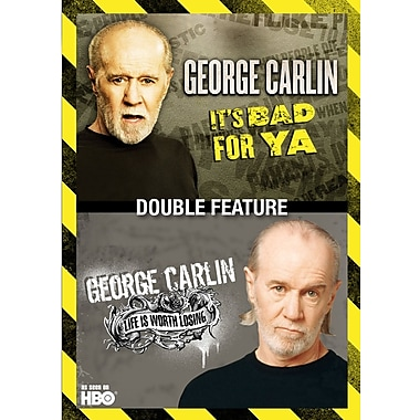 George Carlin Double Feature: Life Is Worth Losing/It's Bad for Ya' (DVD)