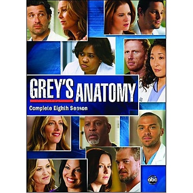 Greys Anatomy: The Complete Eighth Season (DVD)