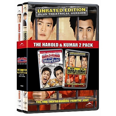 Harold and Kumar Go to White Castle/Harold and Kumar Escape from Guantanamo Bay (DVD)