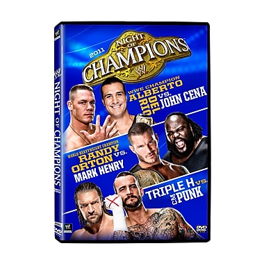 WWE 2011: Night Of Champions 2011: Buffalo, Ny: September 18, 2011 (DVD)