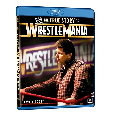 WWE 2011: The True Wrestlemania Story (DISQUE BLU-RAY)