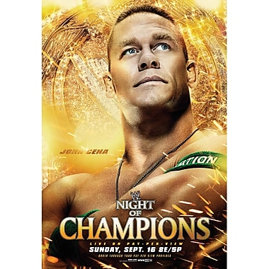 WWE 2012 - Night Of Champions 2012 - Boston, Ma - September 16, 2012 Ppv (DVD)