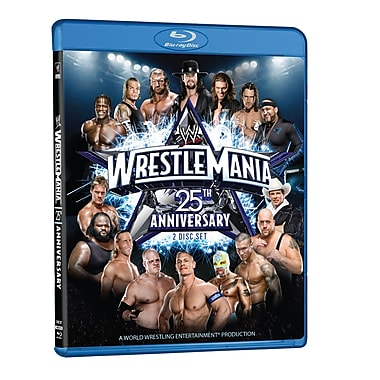WWE: Wrestlemania Xxv: Houston, Tx: April 5, 2009 (DISQUE BLU-RAY)
