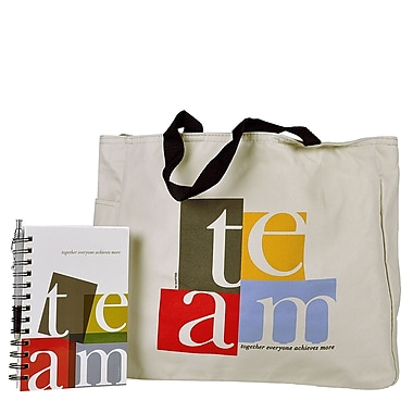 Tote Bag With Journal And Pen, TEAM