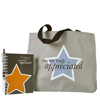 Tote Bag With Journal And Pen, You Are Truly Appreciated