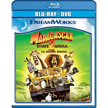 Madagascar: Escape 2 Africa (BRD + DVD)