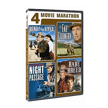 4-Movie Marathon: James Stewart Western Collection (DVD)