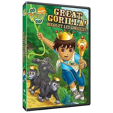 Go Diego Go!: Great Gorilla (DVD)
