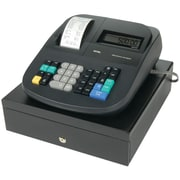 Royal 500DX Cash Register with LCD Display, Black