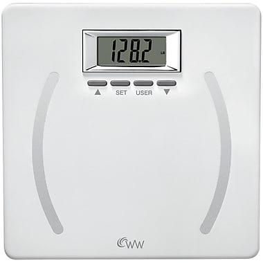 Conair® WeightWatchers® Plastic Body Analysis Scale