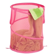 Honey Can Do® Breathable Large Mesh Popup Hamper, Pink