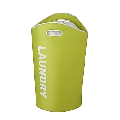 Honey Can Do Foam Laundry Tote, Lime (HMP-03542)