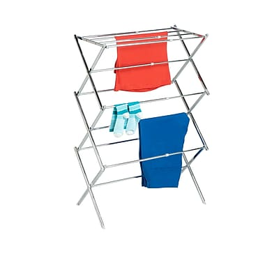Honey Can Do® Expandable Drying Rack, Chrome