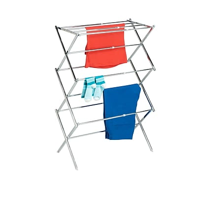 Honey Can Do Expandable Drying Rack, Chrome (DRY-03053)