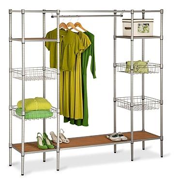 Honey Can Do® Adjustable Free Standing Steel Closet