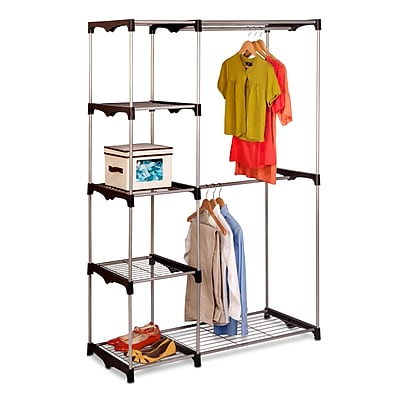 Honey Can Do® Double Rod Free standing Closet