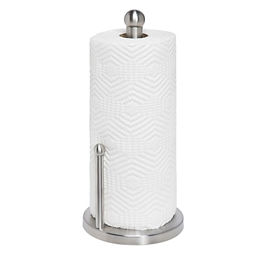 Honey Can Do® Paper Towel Holder, Stainless Steel