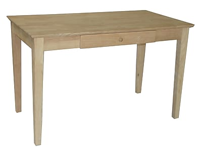 International Concepts Standard Writing Desk, Unfinished (OF-41)