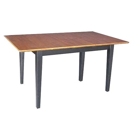 International Concepts X X Rectangle Table WButterfly - 30 x 60 dining room table