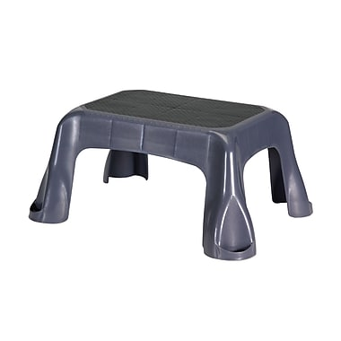 Rubbermaid® Step Stool With Mold Tread, Gray